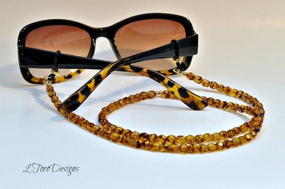 tortoise eyeglass chain necklace tortoise lanyard glasses