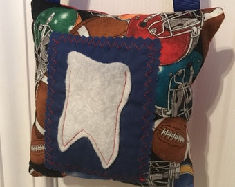 Tooth Fairy Pillow, Football Tooth Fairy Pillow