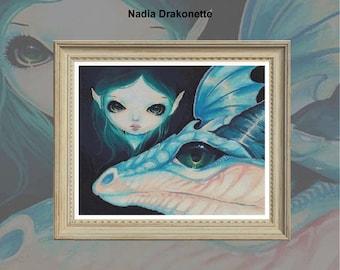 Nadia Drakonette PDF chart only for 14 count
