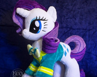 Rarity Pony with Ponytones Jacket