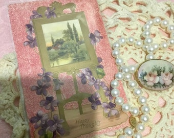 Pretty Victorian Greeting Card