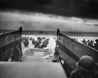 Normandy, Landing Craft, Jaws of Death WWII, France, D-Day Invasion