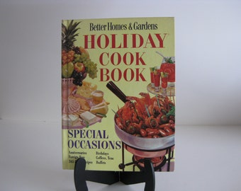 Vintage BH&G Holiday Cook Book Better Homes and Gardens 1969 edition