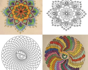 A Collection of Mandalas Book One