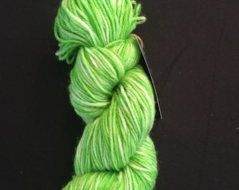 Hand Dyed Yarn, Worsted Weight Yarn, Queen of the Fae