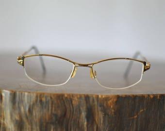 Vintage CAZAL WOMEN'S GLASSES , women's metal frames .........