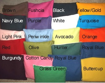 ACA Regulation Cornhole Bags Set of 8 - Choose from 20+ colors