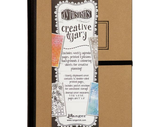 New! Ranger Dylusions Creative Dyary (Diary) by Dyan Reaveley