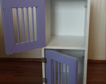 Double Pet Kennel for toys like American Girl Doll Pets and other stuffed animals
