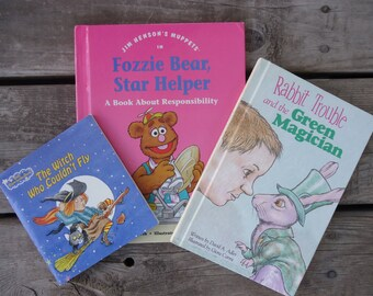 Vintage Children's Books  (lot of 3)