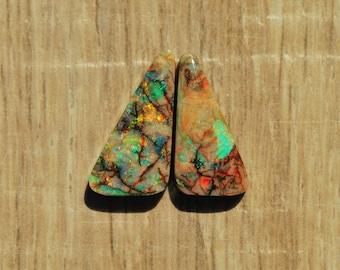 Divine Opal Cabochon Pair