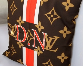 pillow with your letters