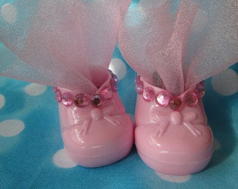 Baby shower plastic booties 6 pack