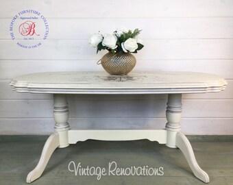 Beautiful vintage cherub coffee table