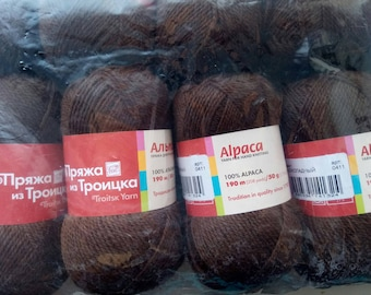 100% Alpaca Wool 10 skeins 50g (500g)