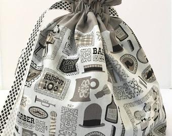 Large Barber Shop Design Project bag.