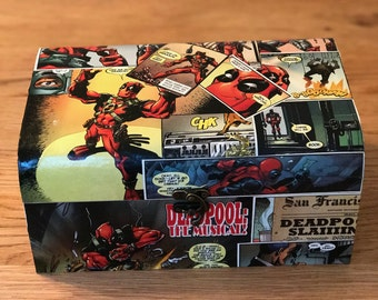 Deadpool comic box
