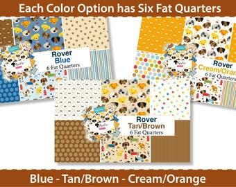 Rover! 6 Fat Quarter Bundle by Bella Blvd