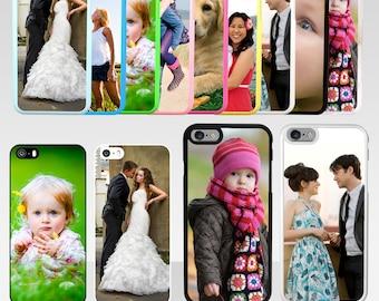 Personalised Photo iPhone 5 5s 5c 6 6s Plus SE 7 Hard Case Gift