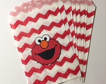 Elmo Favor/Treat Bags