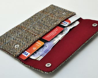 HARRIS TWEED wallet/purse - Country Heritage Collection
