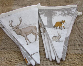 Woodland Animal Bunting