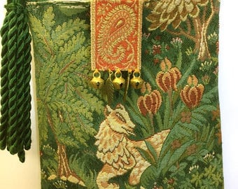 Medieval Tapestry Bag