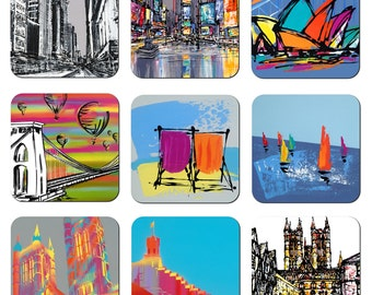 Art Coasters - Various