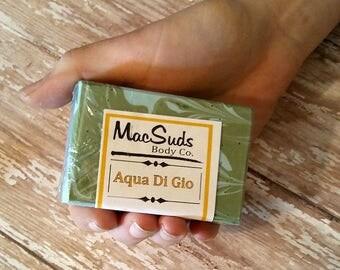 Aqua Di Gio Soap, homemade soap, All Natural Soap, Nourishing Skin Soap