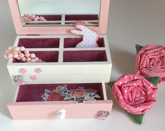 Box wooden jewellery box in ready for sale