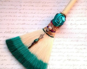 Protection broom,witch broom,altar broom,hanging decor