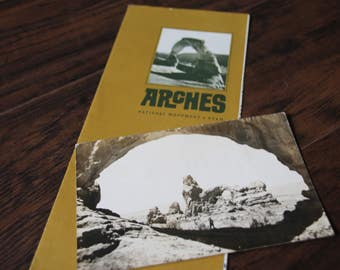 Vintage 1960's Arches National Park Travelers Collection