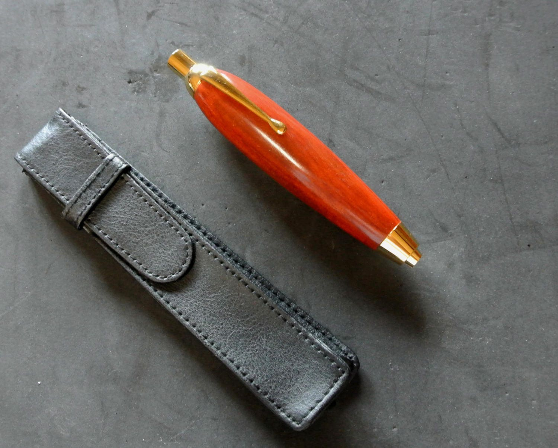 Art Lead Holder - Fat Boy Redheart hardwood Artist Sketch Clutch Pencil  with Gift Box