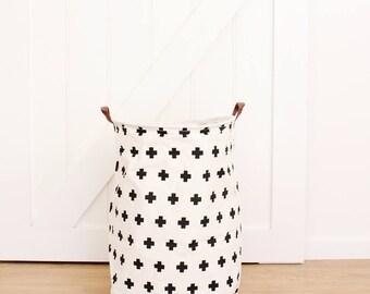 Bear Swiss Cross Extra Large Canvas Storage Bags