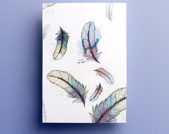 Poster - Illustration feathers