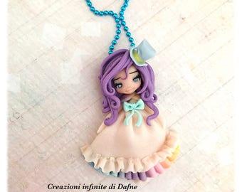 Ooak Rainbow doll handmade