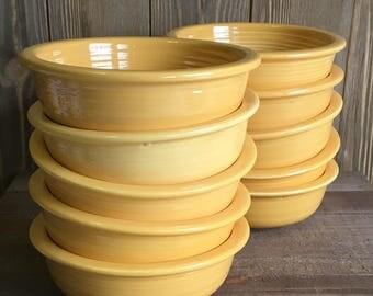 "Vintage Fiestaware - 4-3/4"" Fruit Bowls"