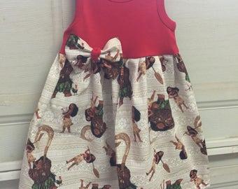 A beautiful Moana tank top dress