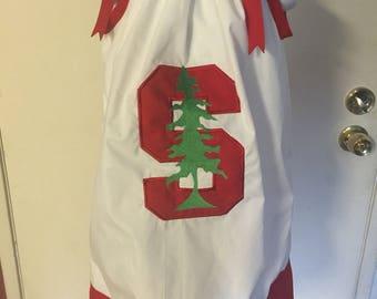 A beautiful applique Pillowcase dress Stanford