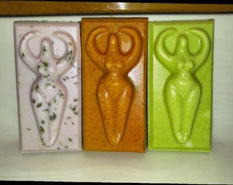 3 Organic Goddess Soaps