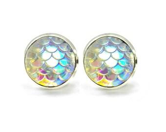 Rainbow Earrings, Pastel Stud Earrings, Teen Girl Earrings, Kawaii Earrings Fun Earrings, Colourful Earrings, Pastel Studs Carnival Nautical