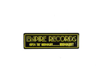 Empire Records Hat Pin(FREE SHIPPING/TRACKING)