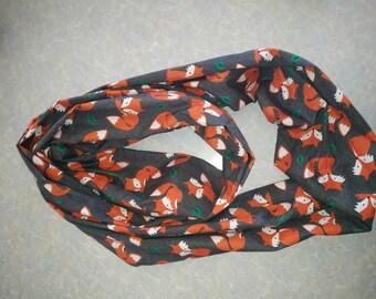 Foxy infinity scarf