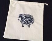 Crazy Sheep Project bag