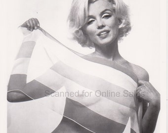 Marilyn Monroe with Scarf 8x10 Photo