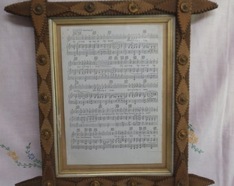 Gothic Inspired Cruciform Picture Frame - Glazed - Victorian - Arts & Crafts