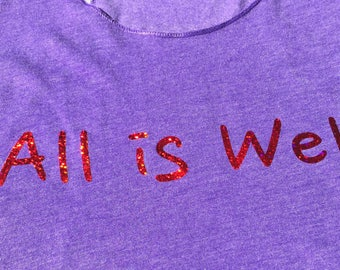 All is Well Next Level tank top Buddha Meditation Enlightenment Consciousness