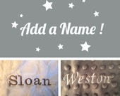 Personalization Name Embroidery