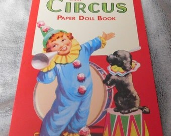 The Circus Paper Doll Book