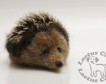 Needle felted hedgehog #5